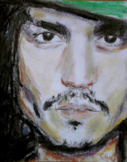 Johnny Depp por Clara91